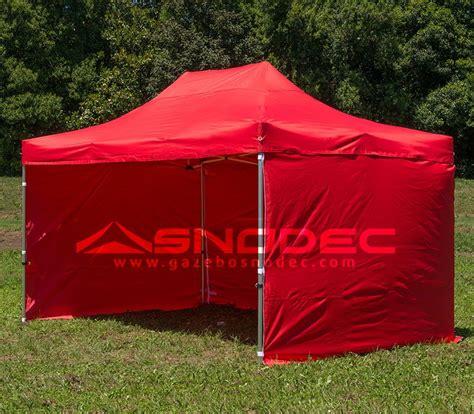 gazebo 3x4 5 gazebo pieghevole 3x4 5 rosso alluminio 40mm con teli