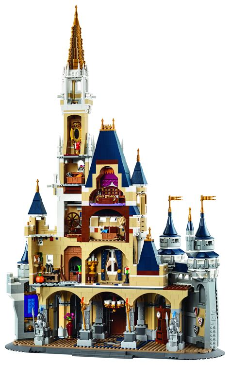 Beckham Antigona 8881 Set 3in1 behold the magnificent lego 71040 disney castle