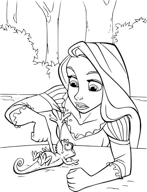 Coloriage Raiponce Et Pascal 224 Imprimer Sur Coloriages Info Coloriage Imprimer Personnages Disney L
