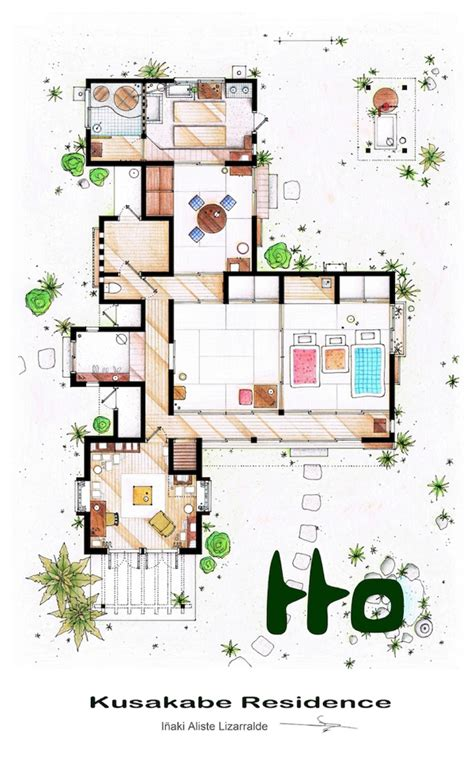 The Sopranos House Floor Plan by
