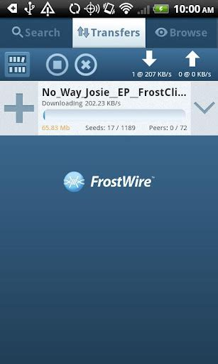 frostwire android mejores clientes de bittorrent para android android zone