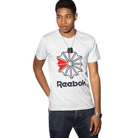 T Shirt This Is A Classic Reebok reebok mens classic graphic logo t shirt crew neck retro