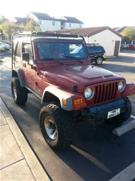 Jeep Rubicon 1999 Purchase Jeep Rubicon 1999 Motorcycle In San Ramon