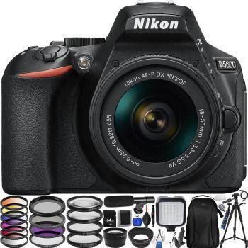 nikon d5600 dslr with 18 55mm lens with accessory bundle