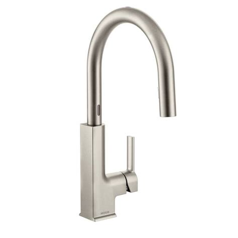 Moen Motionsense Kitchen Faucets by S72308esrs Moen Sto Series Motionsense Kitchen Faucet