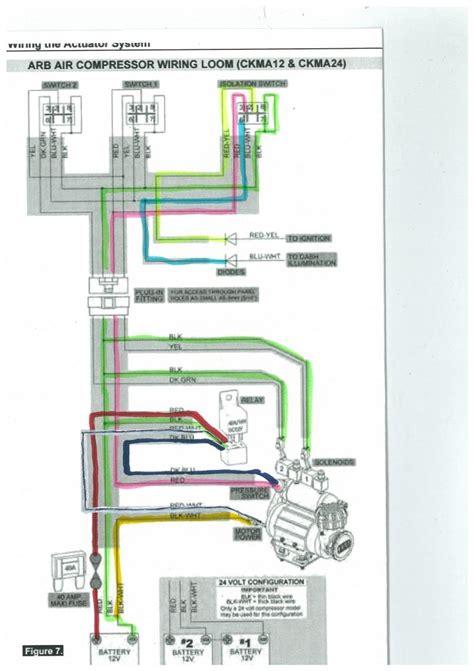 wiring diagram arb air compressor wiring diagram