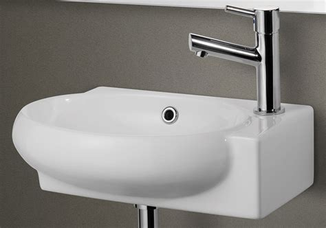 wall mounted sinks for small bathrooms alfi ab107 small wall mounted ceramic bathroom sink basin