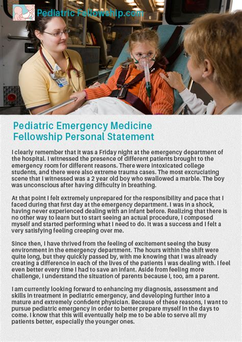 Emergency Medicine Mba Fellowship by Cardiac Anesthesia Fellowship Personal Statement