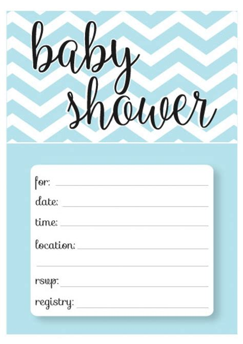templates for shower invitations baby shower invitations template wblqual com