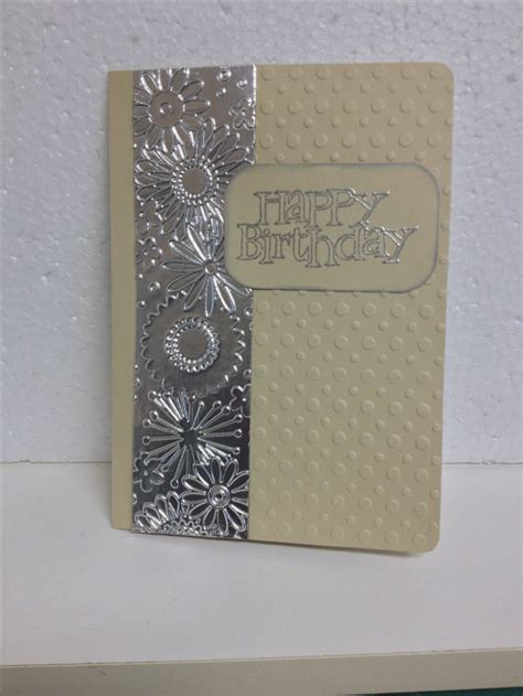 card embossing 483 best cards using embossing folders images on