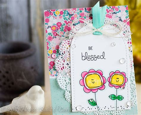 Things To Put You On A Floral Frenzy by Houses Built Of Cards Floral Frenzy Cards Ink Blots Llc