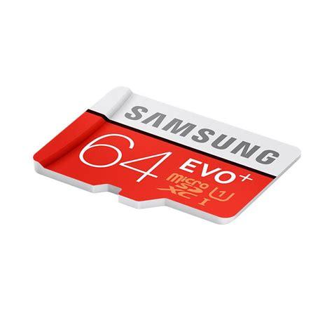 Termurah Samsung Micro Sd Evo Uhs I 64 Gb Class 10 Evo Plus Micro Sdh samsung microsdhc 64gb memory card microsdhc памет с sd адаптер за samsung устройства клас 10