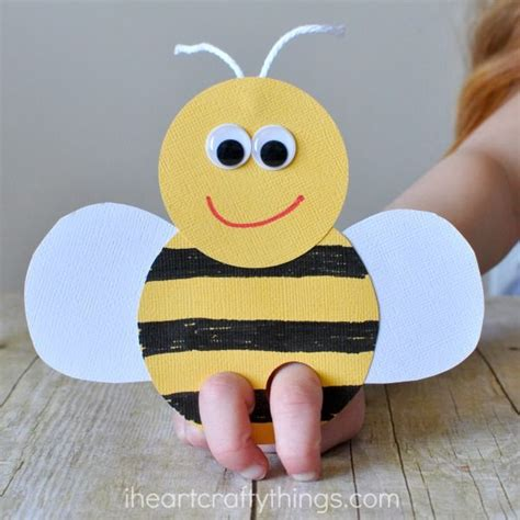 bee finger puppet template 1000 ideas about finger puppets on easy