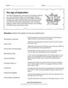 Explorers Worksheets by 17 Images About Explorers Unit On Trading