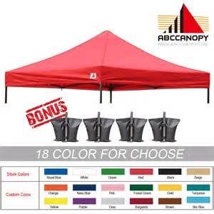 Pop Up Canopy Replacement Top by Ez Pop Up Canopy Replacement Top For 10 X 10 Caravan Tent