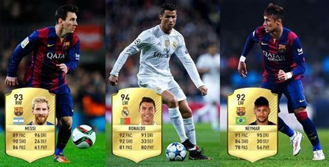 17 fifa player ratings ea sports have revealed the highest rated player in fifa