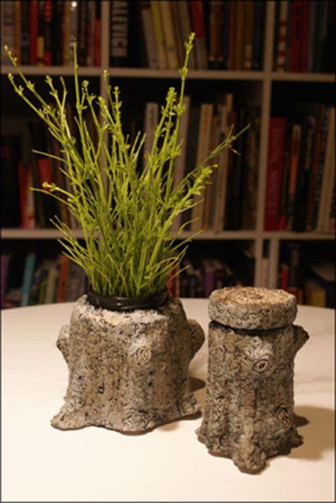 vasi in cartapesta carta carta vasi di cartapesta a forma di alberi