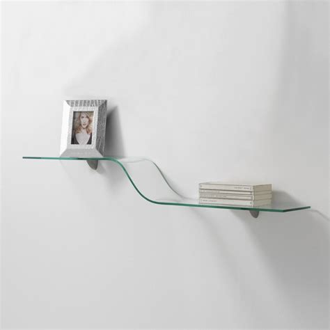 curved glass shelves curved glass shelf quot wave quot