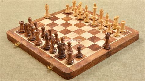 chess board buy buy foldable chess board pieces combo in sheesham box