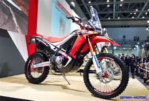 Motor Trail Honda Crf 250 crf250 rally motor trail pertama honda di indonesia
