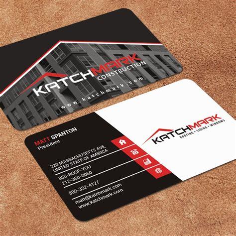 Business Card Construction Design
