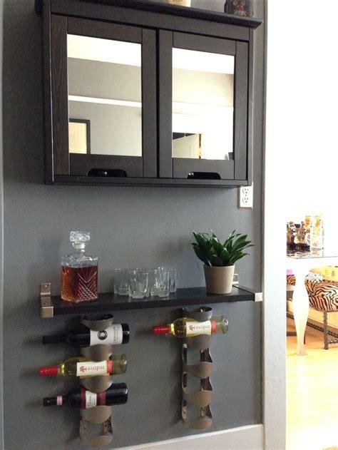 liquor cabinet ikea my diy liquor cabinet ikea bathroom cabinet for the
