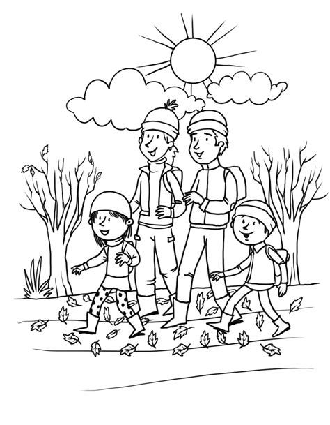 Fall Coloring Pages 360coloringpages Color In Pictures For