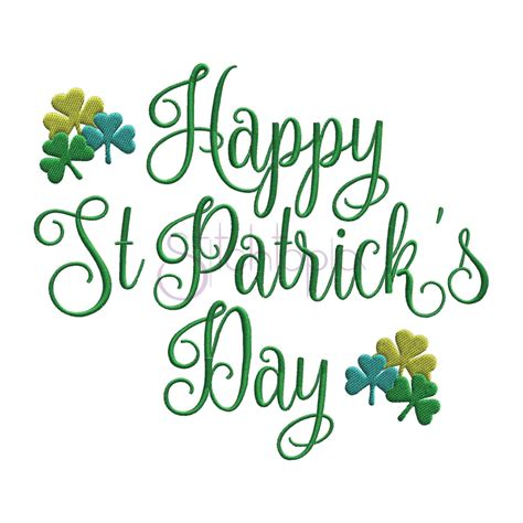 s day designs happy st s day embroidery design 2 stitchtopia
