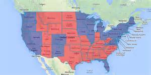 color coded us map in excel create a territory map using excel data espatial