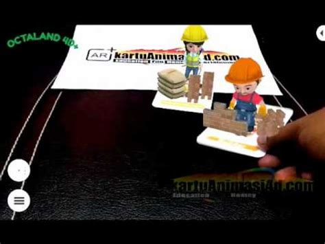 Occupation Card 4d Augmented Reality Kartu Pekerjaan Animasi 4d feeding animal interaction with animal 4d flashcards b doovi