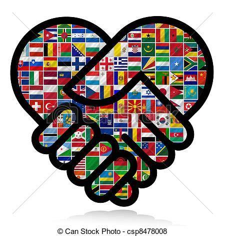flags of the world clipart stock de ilustraciones de mundo banderas cooperaci 243 n
