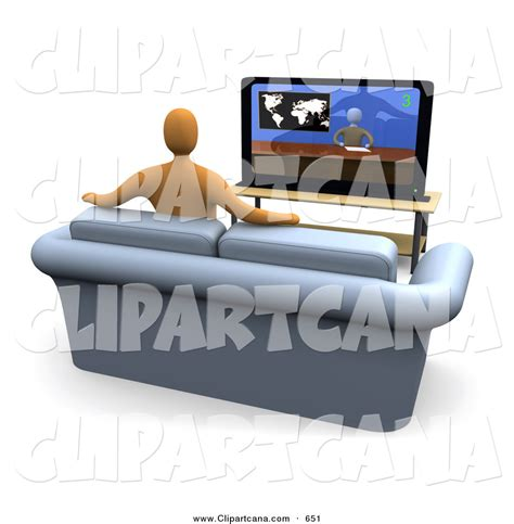 sofa for watching tv tv room clipart and illustration 2630 clip art vector