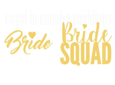 bride squad temporary tattoos australia