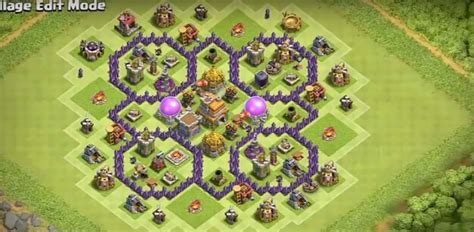 coc layout anti dragon th7 15 anti 3 star th7 to th11 farming war base layouts for