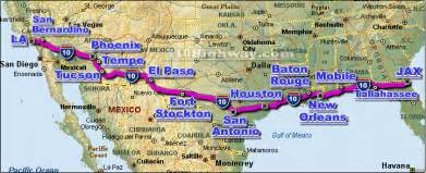 i 10 interstate 10 road maps traffic news