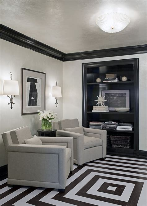 silver lining avenue mad men office interiors i don t know why but i m really digging this black trim