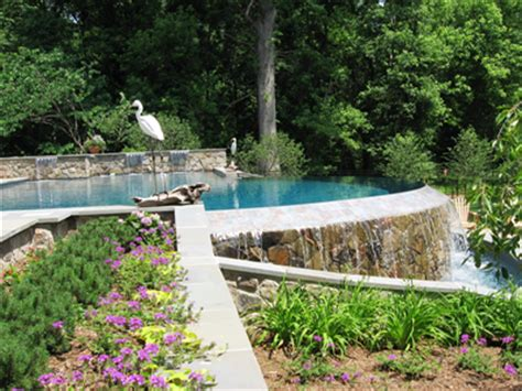 landscaping around pools landscape around deck images