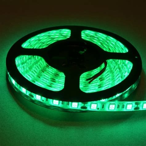 green led light strips green led light 5 meter roll bc robotics