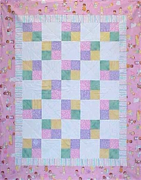 Patchwork Patterns For Baby Quilts - easy patchwork quilt patterns 171 free patterns