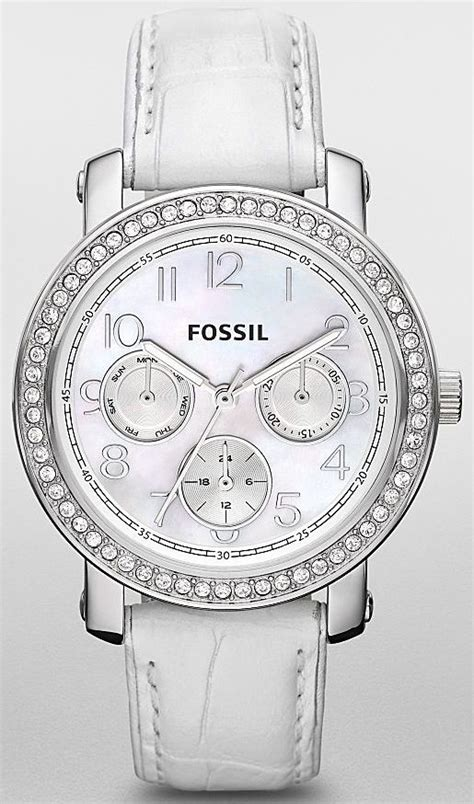 Fossil Boyfriend Silver Soft Blue Leather 49 best fossil images on fossils