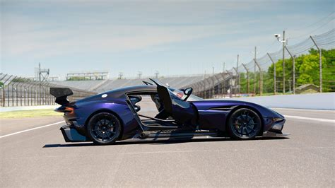 aston martin supercar aston martin vulcan track only supercar heading to auction