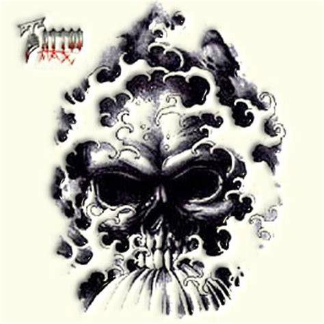 czaszka wzory tatuaży