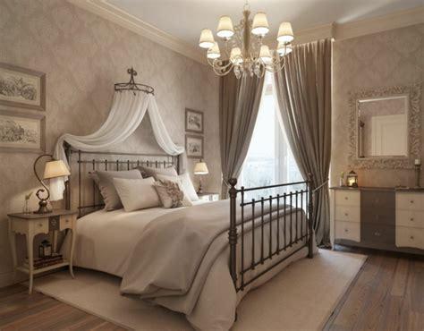 lange gardinen betthimmel ein traumhaftes schlafzimmer design