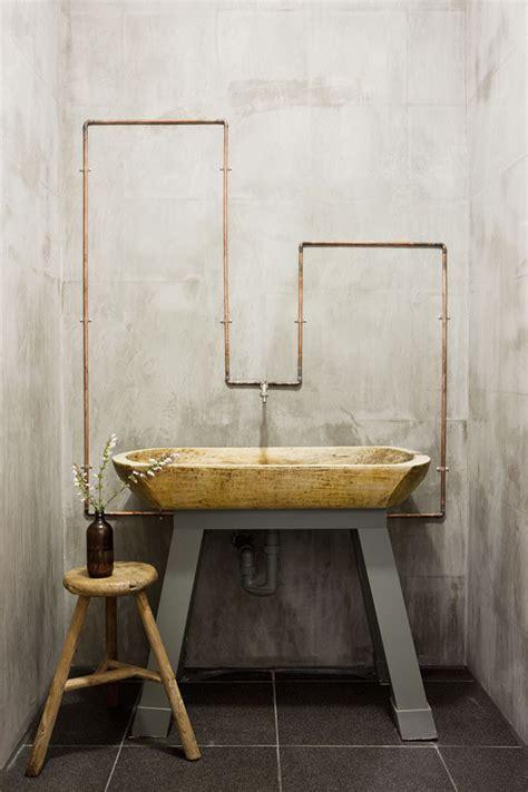exposed bathroom plumbing 10 id 233 es pour donner un style industriel 224 sa salle de bain