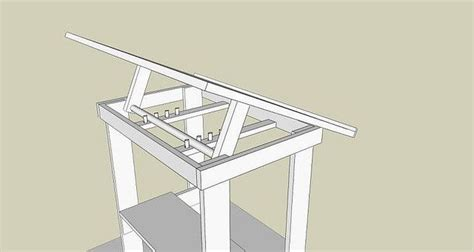 diy drafting table diy adjustable drafting table diy crafts that i
