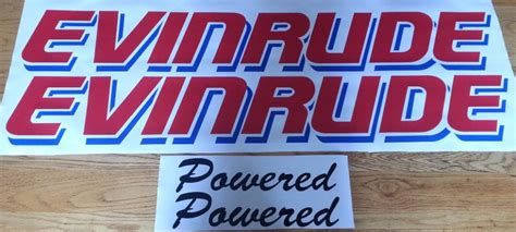 evinrude boat decals evinrude motor cowl kits boat decals graphics stickers