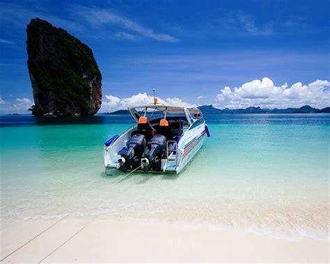 bangkok to krabi by boat krabi 4 islands by speed boat thailand krabi water activity