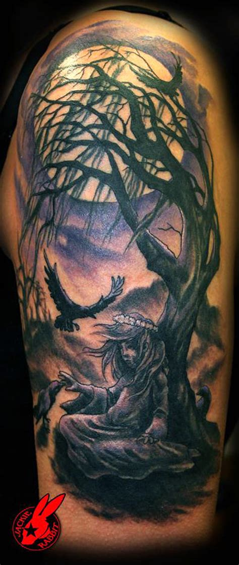 dead tree tattoo tree tattoos palm tree of pine tree