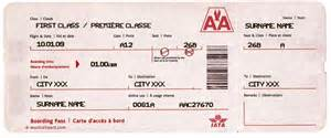 The destination names etc make your own tickets to paradise more