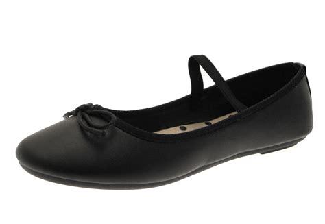 black ballet shoes womens flat black ballet pumps slip on ballerinas